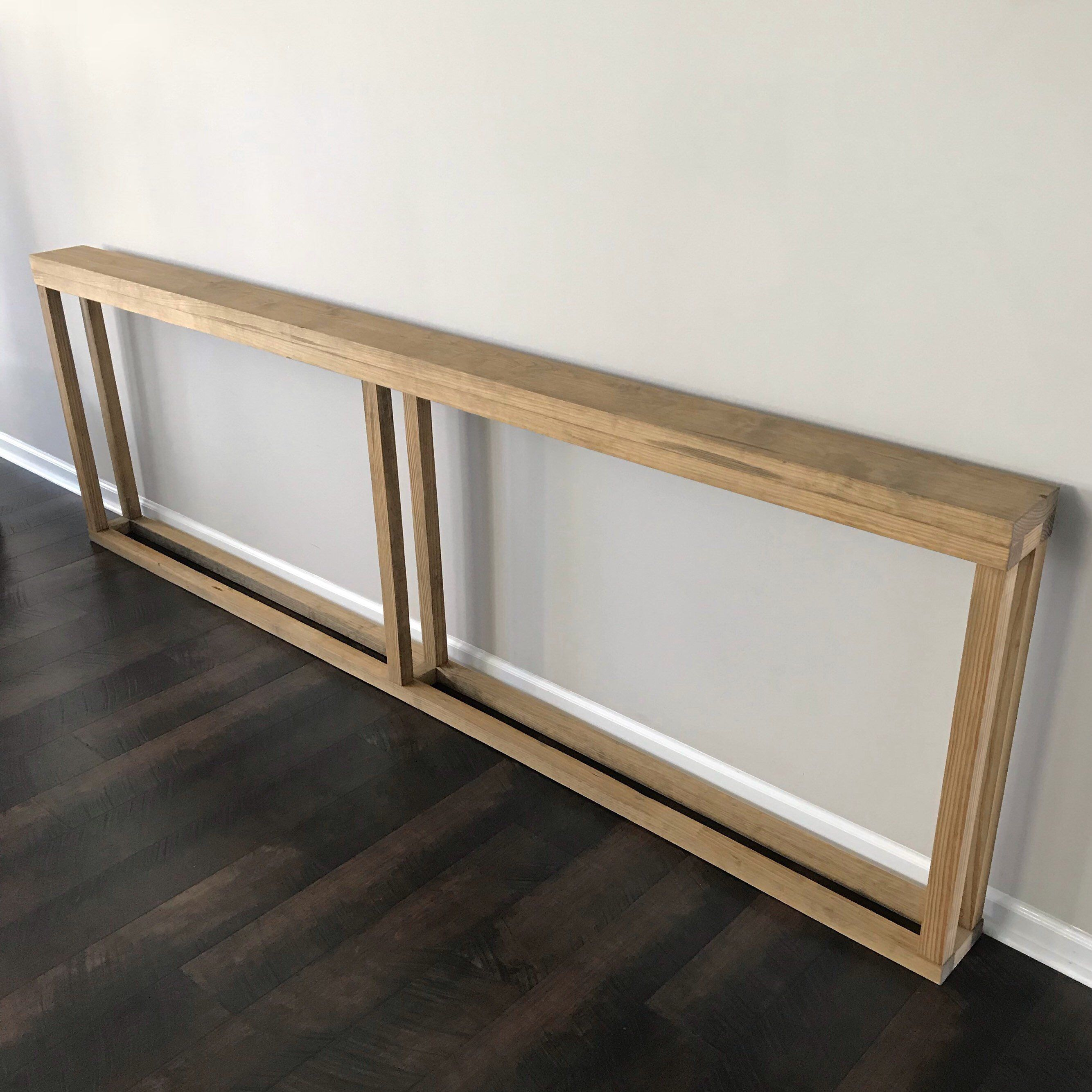 9 Foot 108 Extra Long Skinny Narrow 6 Console Table Long Sofa Table Extra Long Console Table Narrow Console Table