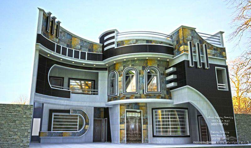 واجهات بيوت العراق مكتب المهندس المعماري محمد فريد عبود House Front House Front Design Facade House