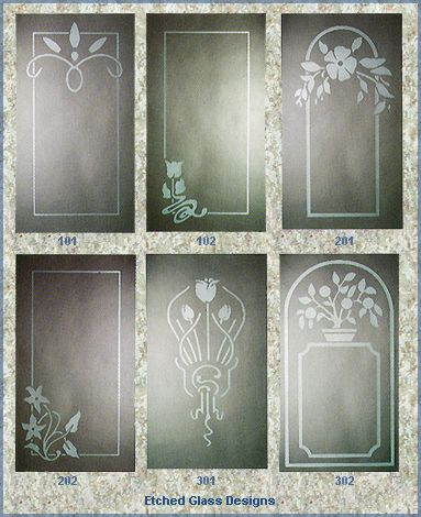 Etched Window Design 2d Design Glass Design Window