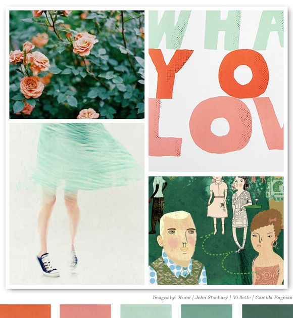 Color Inspiration Daily: 01. 17.12 - Home - Creature Comforts - daily inspiration, style, diy projects + freebies