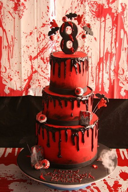 Zombie Cake - This is awesome!!!!!!!!!
