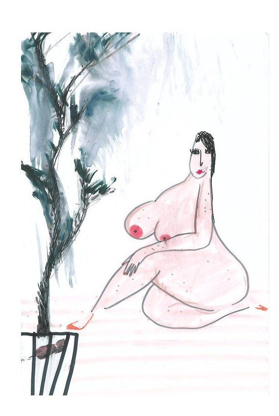 Sexy Fat Girls Cartoon - Pin on Fat Art