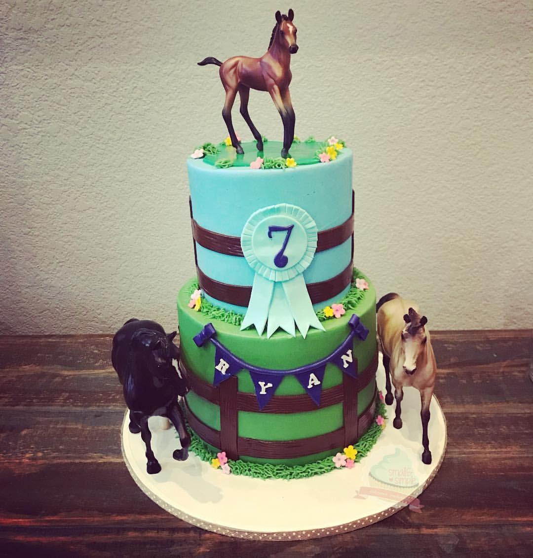 Horse cake smallandsimpleconfections