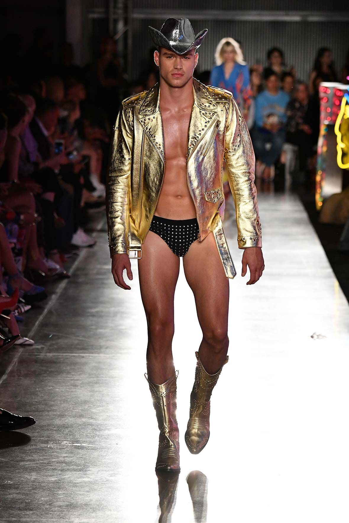 Moschino S S 18 Menswear and Women s Resort Collection - See more on www. moschino.com 80fdef576a3c