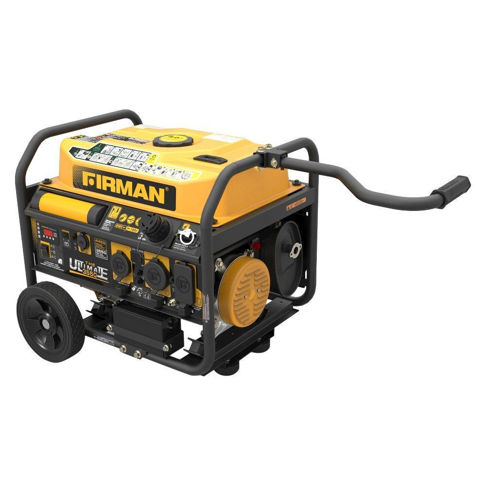 firman power 3650 4550 watt gas powered portable generator firman power 3650 4550 watt gas powered portable generator wheel kit and cover