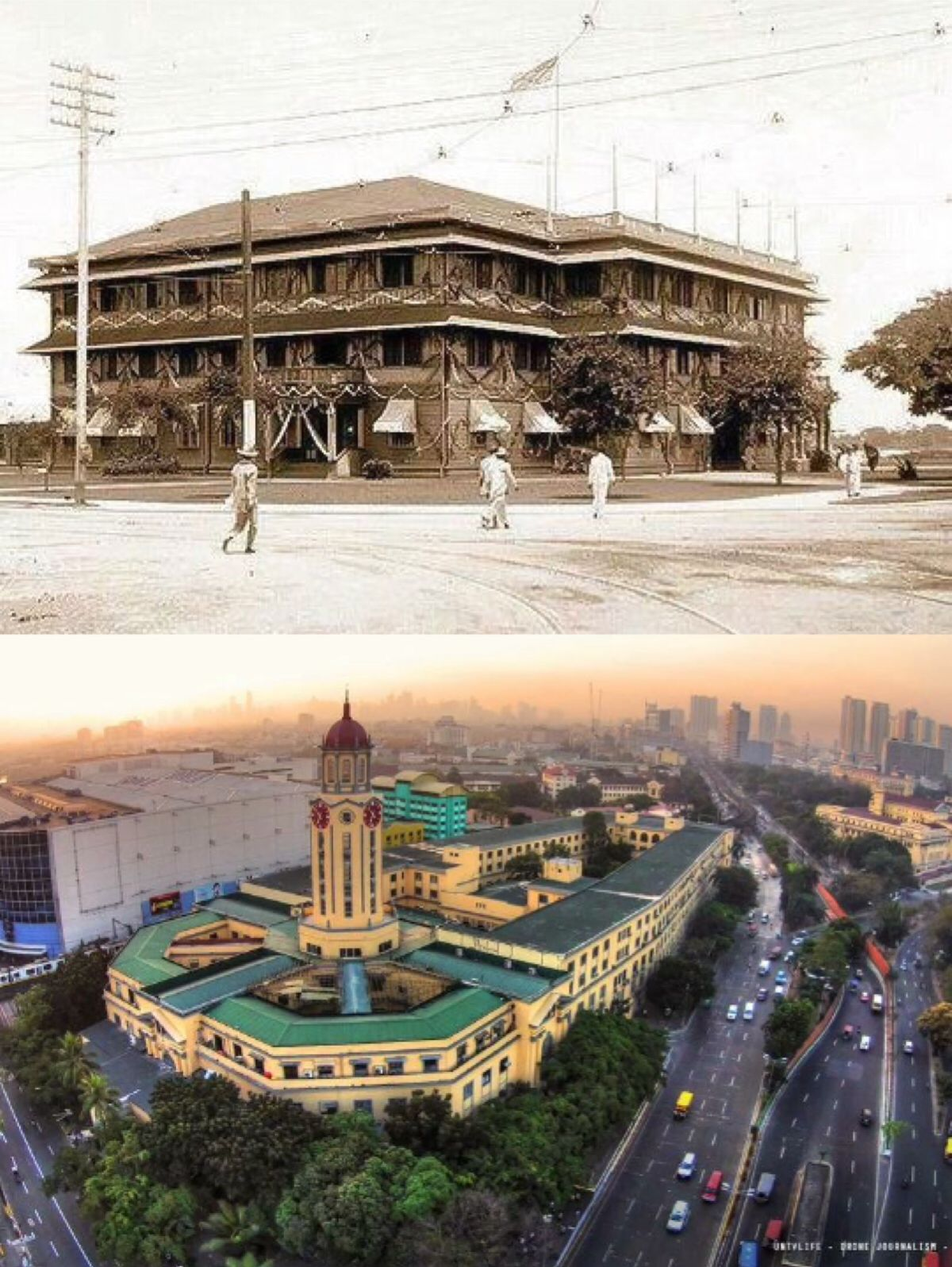 The Original Manila City Hall Location Padre Burgos Ave Ermita Manila Philippines Wayback 1905 Manila Philippines Filipino Architecture Philippines
