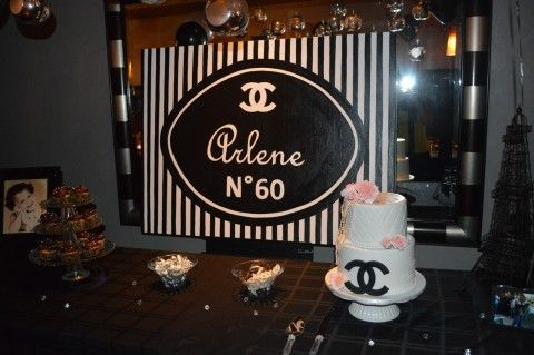 Coco Chanel Birthday Party