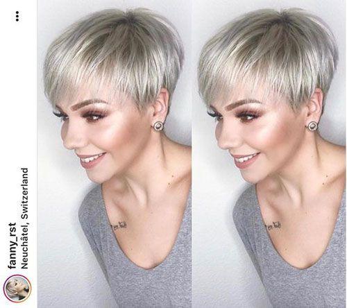 15 Super Pixie-Haarschnitte für feines Haar | Trend Bob Frisuren 2019 #shortpixiehaircuts