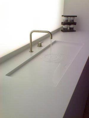 Photo of Lassen Sie sich inspirieren … bycocoon.com: Waschbecken aus fester Oberfläche mit Edelstahl…