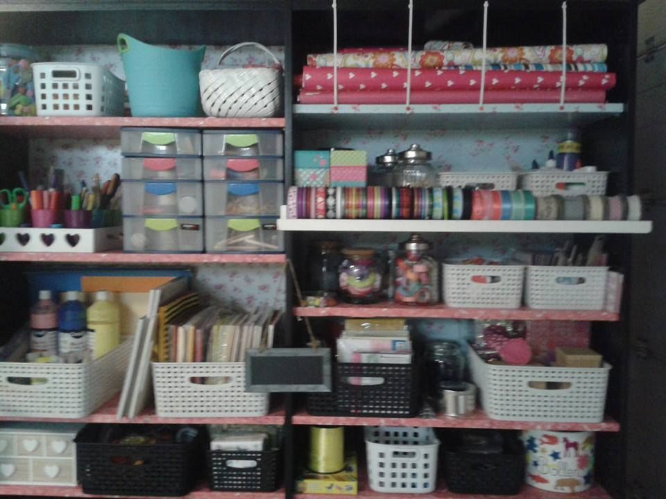 our own craft closet