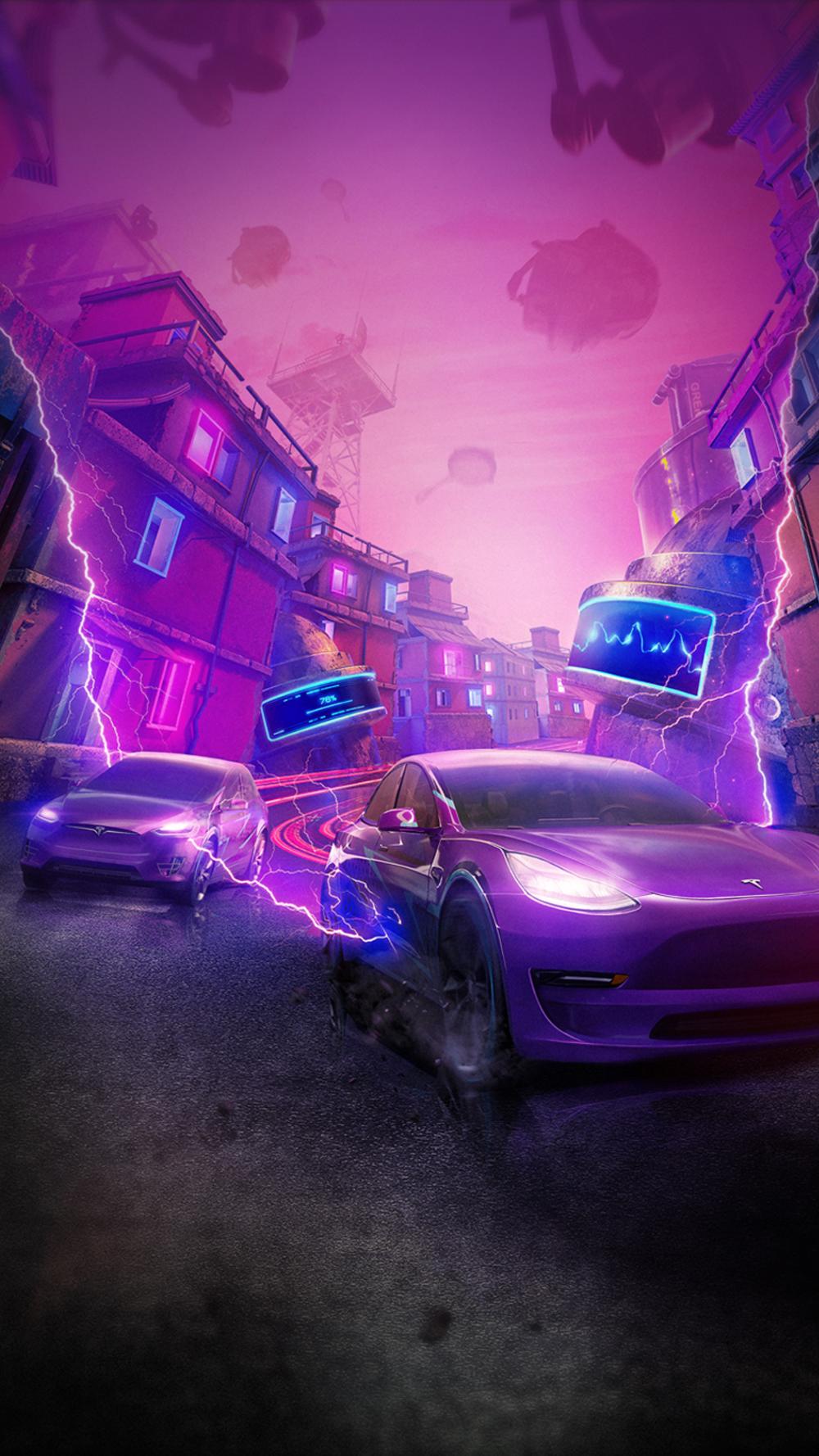 Tesla China On Twitter Tesla Model Tesla Neon Car