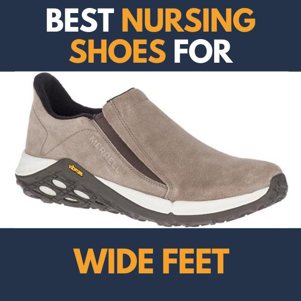 Best Nursing Shoes For Wide Feet in