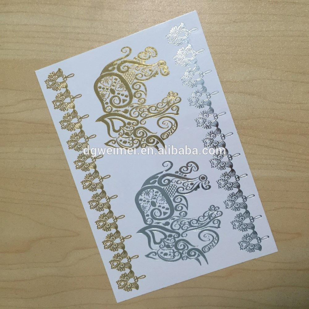Customized-Temporary-Flash-Tattoos-Gold-and-Silver.jpg (1000×1000)