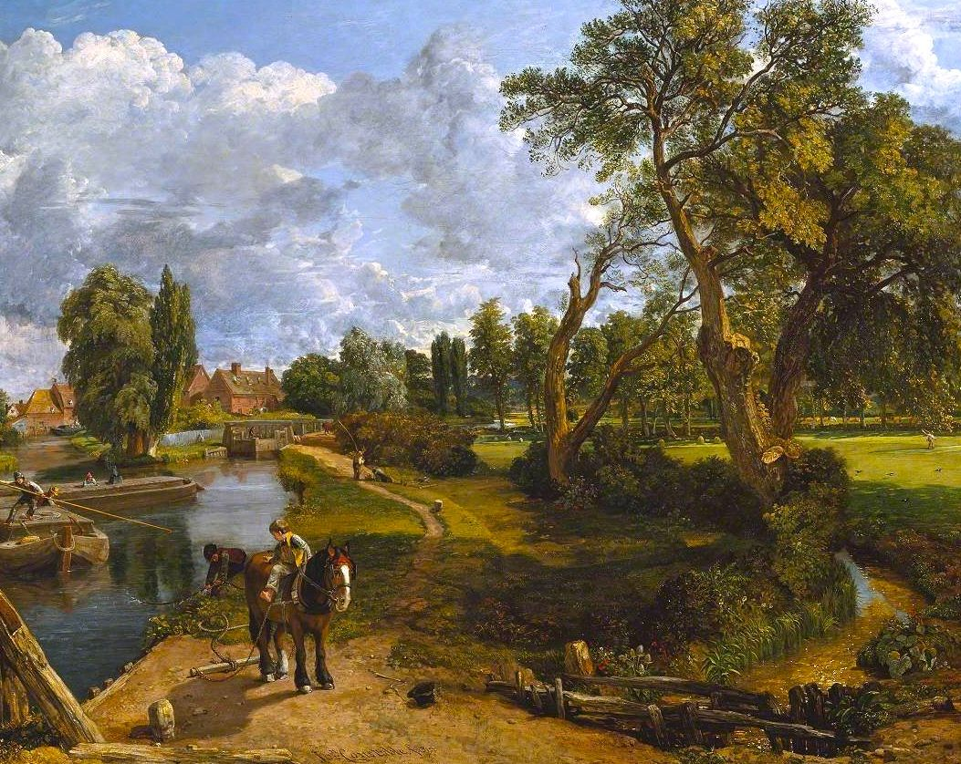 John Constable 1776 1837 Was An English Romantic Painter Born In Suffolk He Is Known Principally Fo Landscape Painting Lesson Landscape Paintings Landscape