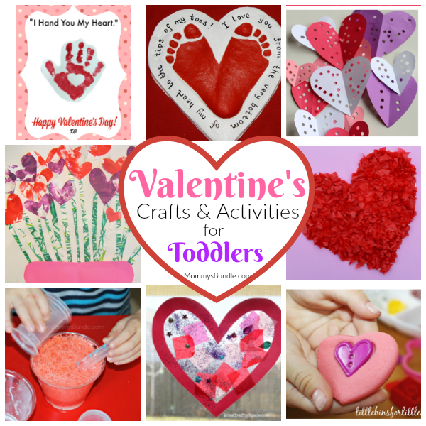 Fun ValentineS Crafts  Activities For Toddlers  Valentine