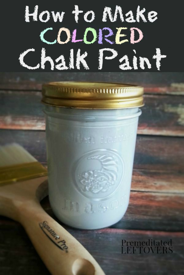 If youve been searching for a great chalk paint recipe LOOK NO