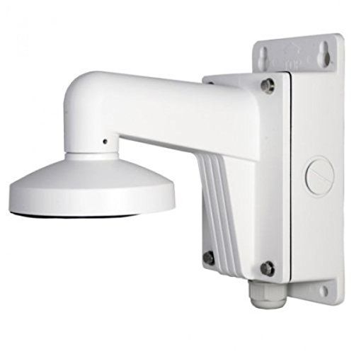Ds 1272zj 120b Pc120b Wall Mount Bracket With Junction Box For Hikvision Mini Dome Ip Camera Ds 2cd25x2 Dome Camera Camera Surveillance System Camera Cover