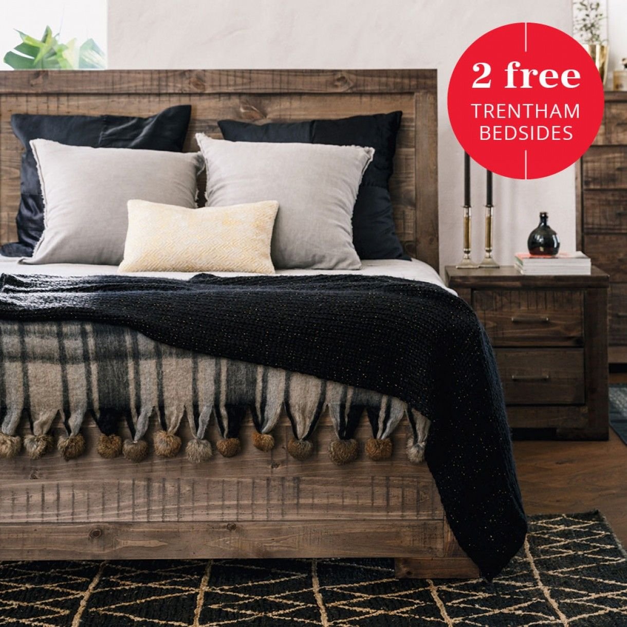 trentham queen bed homey pinterest wood beds queen beds and