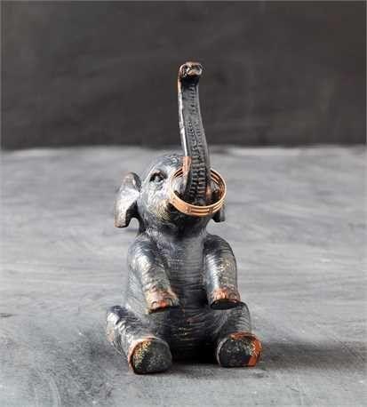 Elephant Ring Holder For Cindi Elephant Ring Modern