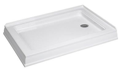 Dreamline Shower Base Shtr103440200 Ds 34x40 Right Hand Drain White