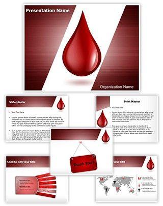 Blood drop editable powerpoint template blood donation pinterest blood drop editable powerpoint template toneelgroepblik Gallery