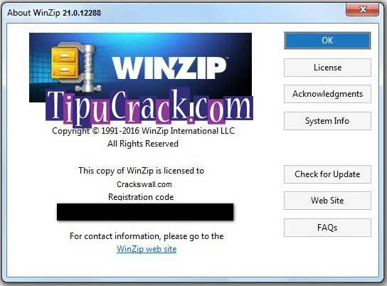 latest winzip with crack
