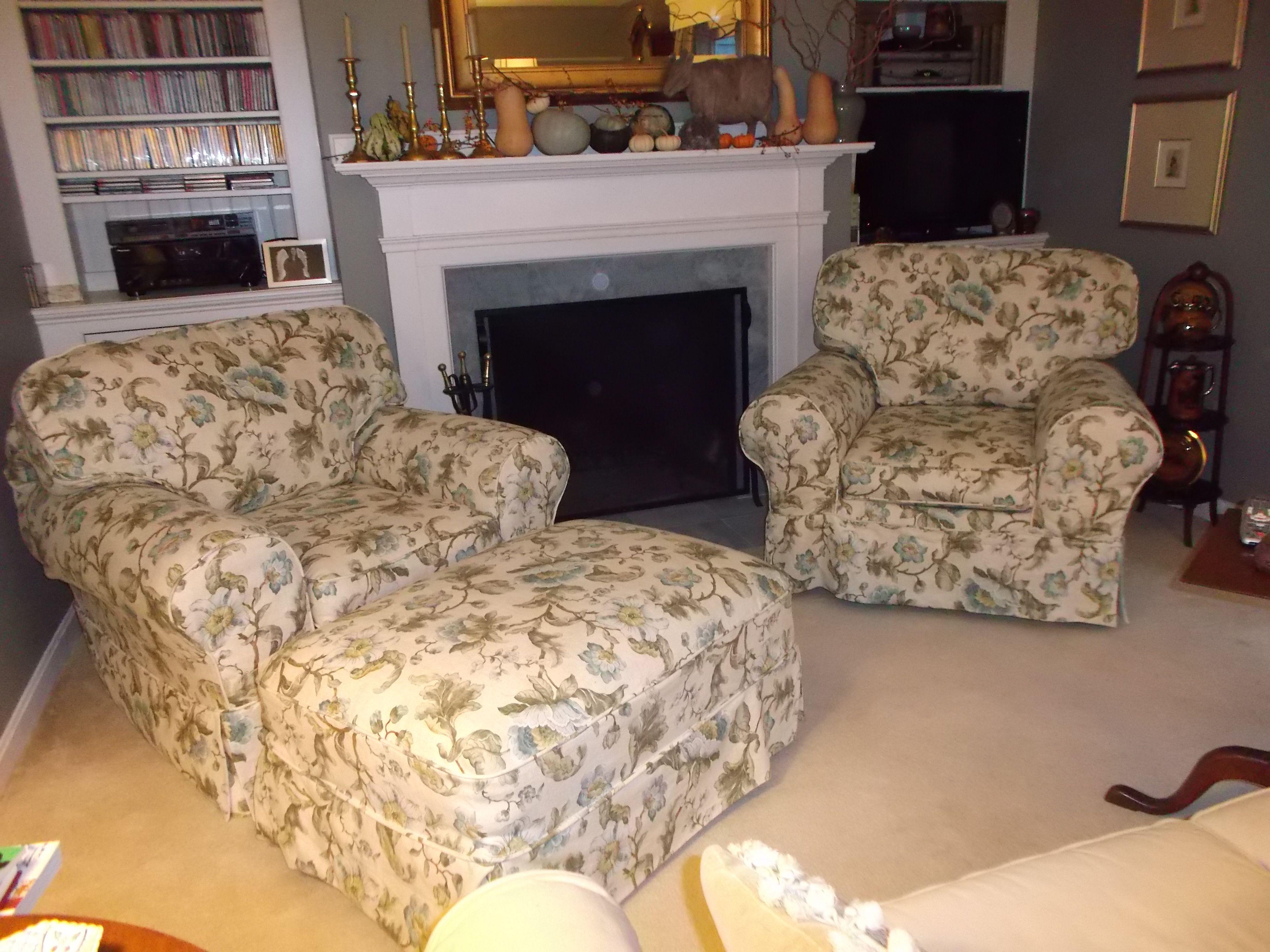 Chair and ottoman slipcovers ottoman slipcover chair