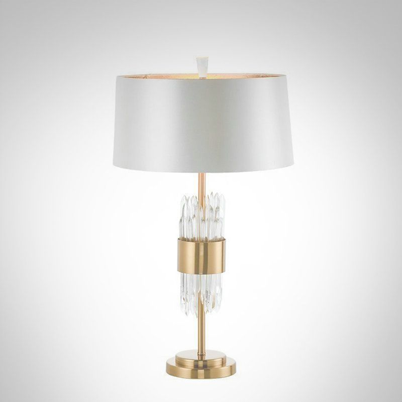 Centemporary Simple Table Lamp Iron Glass Table Lamp Round