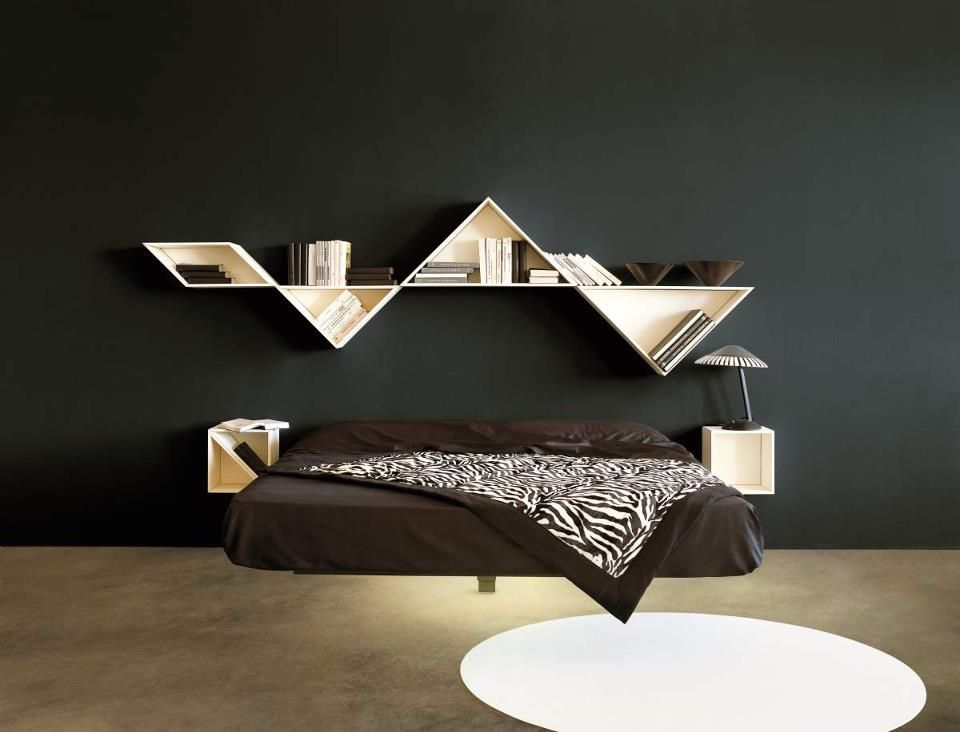 Letto Fluttua | Bedrooms, Interiors and Interior colors