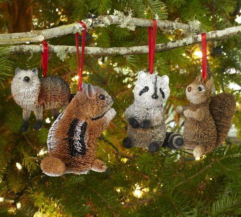 Woodland Creature Ornaments
