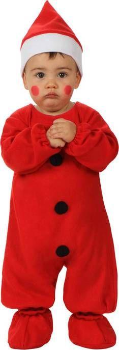 Disfraz Papa Noel para bebé. Disponible en www.vegaoo.es
