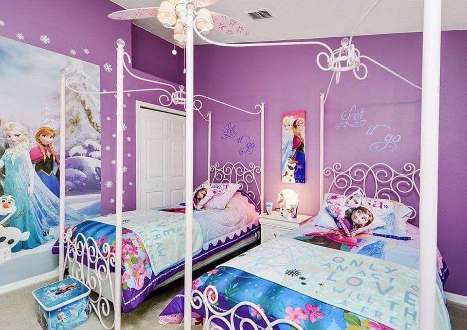 Pin Oleh Crystal Mascioli Di Disney Decorating Ideas Kamar Tidur Anak Perempuan Kamar Tidur Anak Girls Bedroom