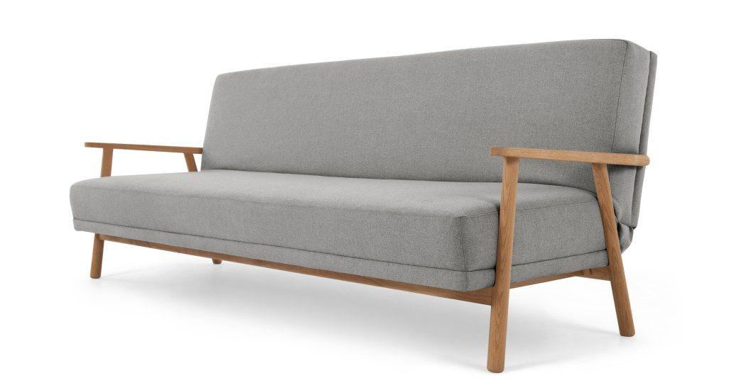 Lars Sofa Bed Mountain Grey Made Com 3 Seater Sofa Bed Sofa Bed Sofa