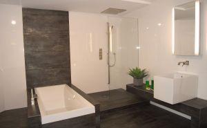 Genial Badezimmer Modern Gefliest #Badezimmer