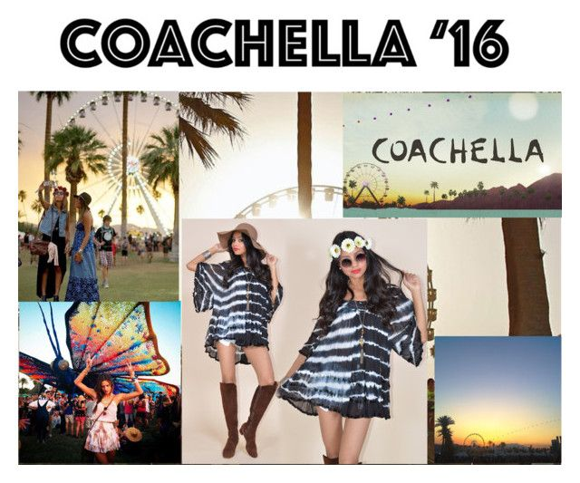 """COACHELLA 2016"" by lorena98princess ❤ liked on Polyvore featuring Été Swim and bestofcoachella"