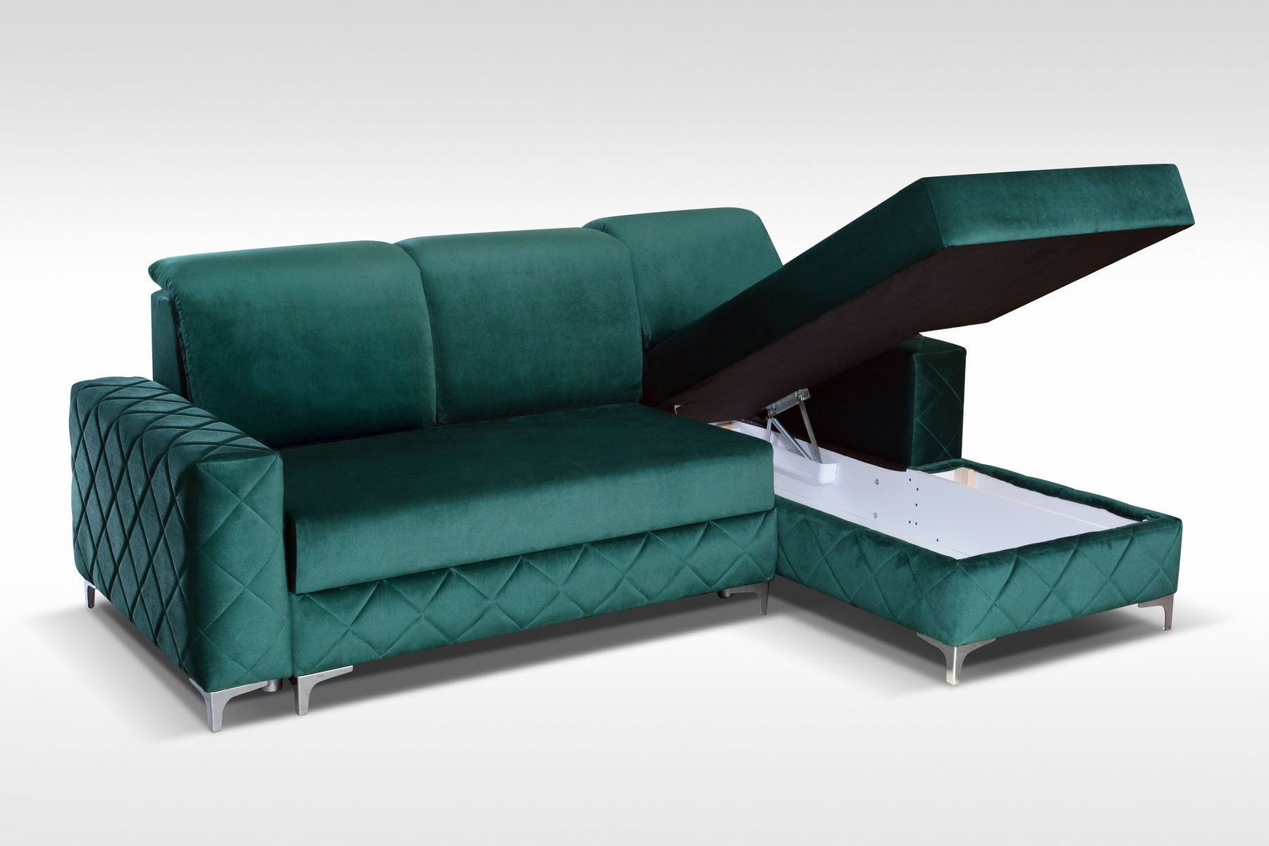 Alfredo Mini Gray Lf Sectional Sofa Sectional Sleeper Sofa Sectional Sofa Sleeper Sectional