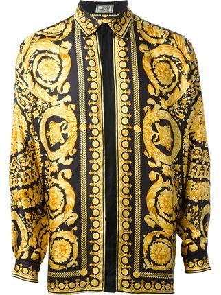 385691ba92 chemise | All Versace Errrthang | Versace, Chemise et Vetements