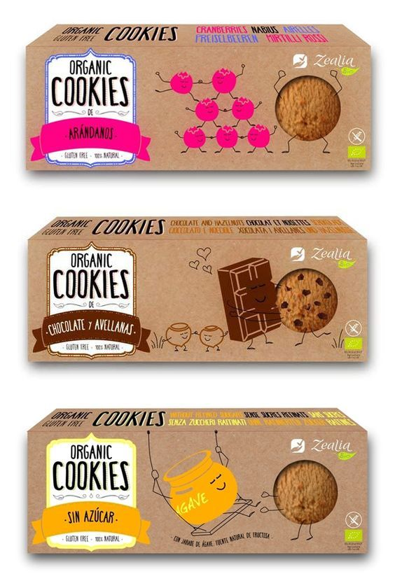 How Packaging Design Influenced by Healthy Food Consumer? #cookiepackaging