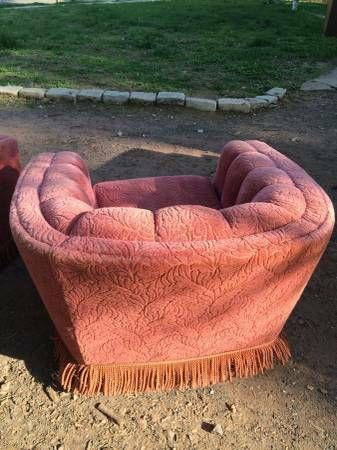Vintage 1950's Shell Back Arm Chair - $100 (Plainfield)
