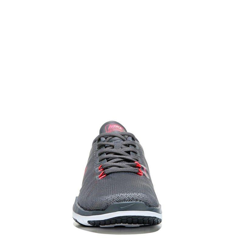 3aa94aac2546 Nike Women s Flex Supreme TR 5 Wide Training Shoes (Dark Grey Hot Punch)