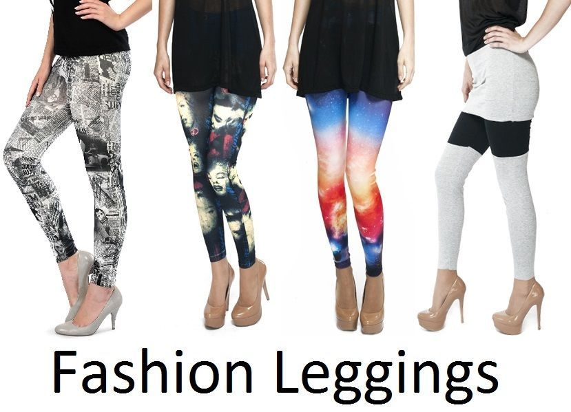 Womens Leggings Jeggings Full Print Lenght Skinny 3D Graphic Stretchy Trousers