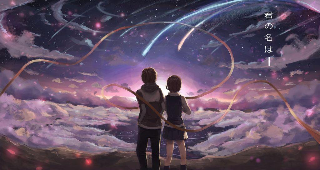 So i watched kimi no na wa a few months ago, i loved the visual arts a lot. Kimi No Na Wa by JamesExcalibur on DeviantArt | Kimi no na ...