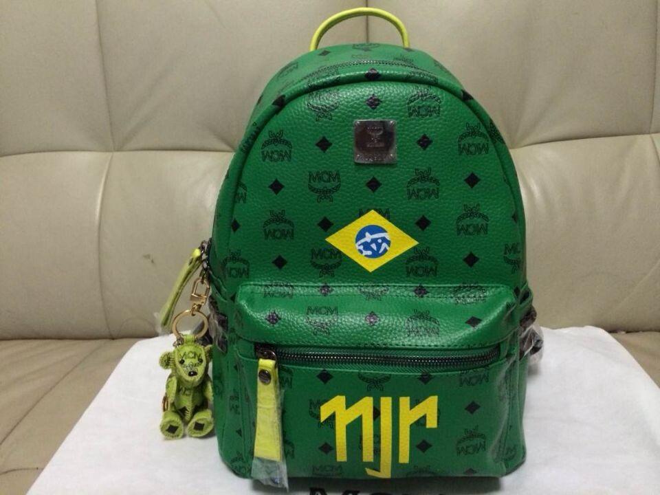 mcm 2014 world cup brazil neymar backpacks limited. Black Bedroom Furniture Sets. Home Design Ideas