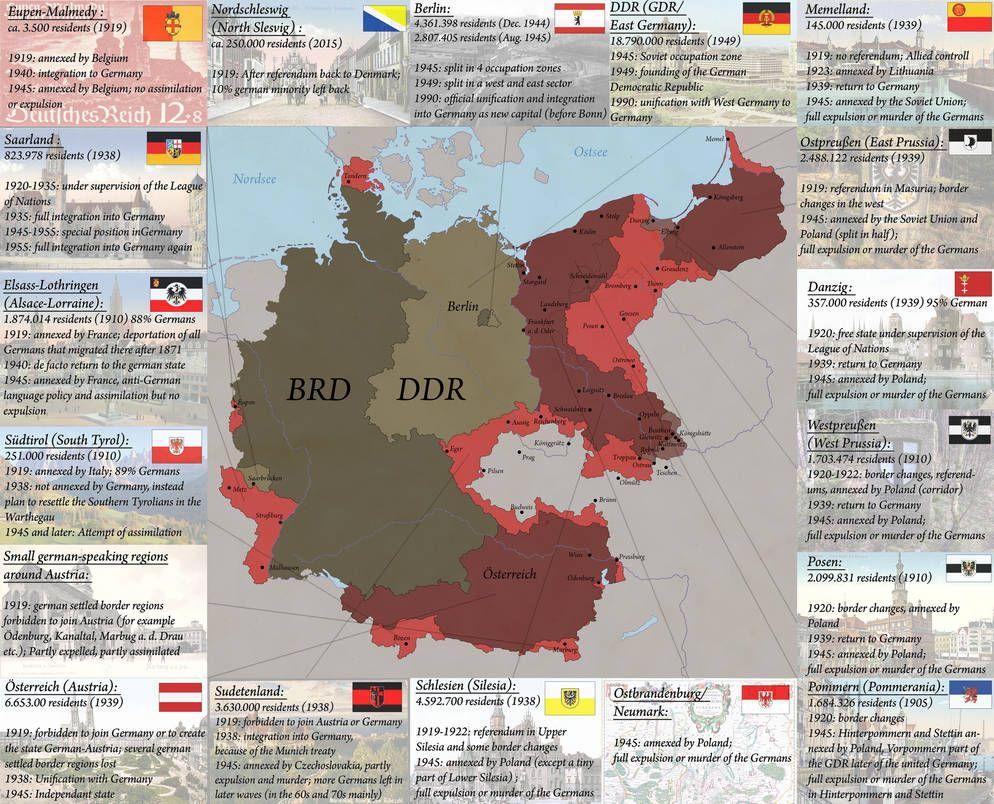 Germanys Loss Of Territory By Https Www Deviantart Com