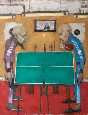 Saatchi Art Artist Sergey Dyomin Painting Ping Pong