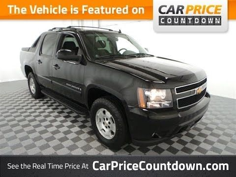 2007 Chevy Avalanche Lt 4wd Used Cars For At Car Price Countdown You