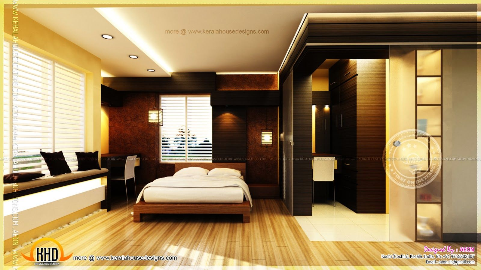 Bedroom Wnętrza Pinterest Bedrooms - Bedroom attached bathroom design