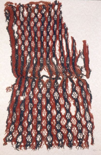 Bag, 1971-50-482, 5th century (sprang)