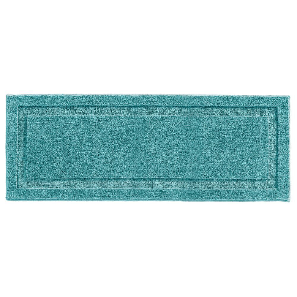 Microfiber Bath Mat Non Slip Bathroom Rug 60 X 21 Mdesign