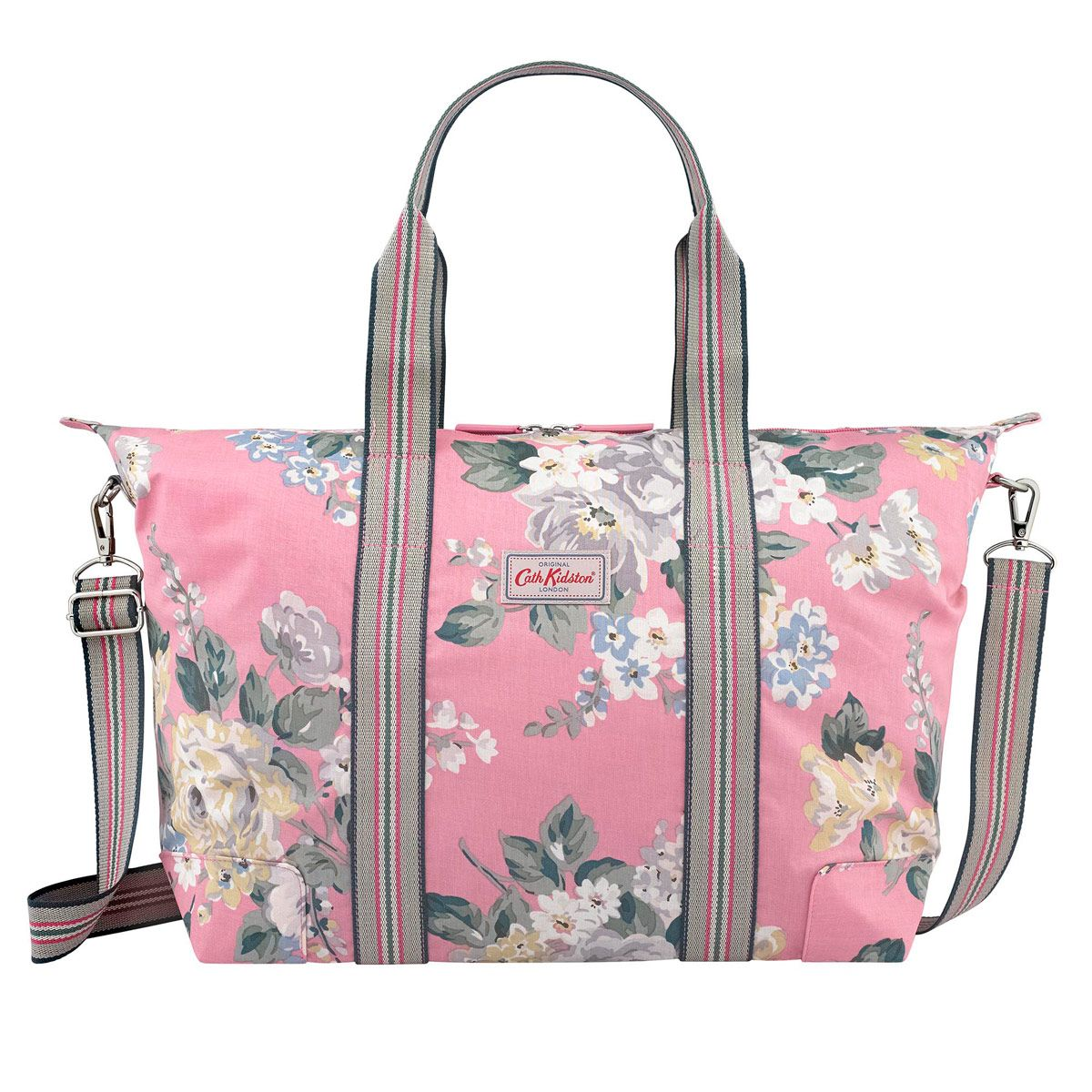 Cath kidston taxis kentish rose blue 180 piccadilly pretty norfolk rose foldaway overnight bag norfolk rose cathkidston doublecrazyfo Images
